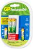 Аккумулятор + зарядное устройство GP Smart Energy U211100/40SEFR,  4 шт. AA/AAA вид 7