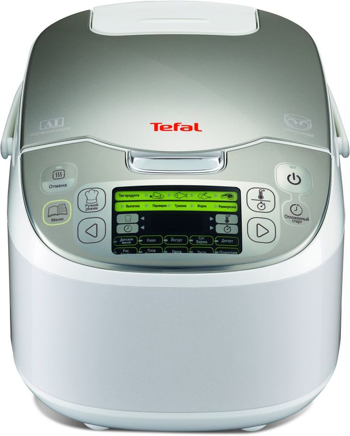 Мультиварка TEFAL RK816E32,  750Вт,   белый [7211002311]