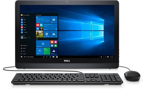 Моноблок DELL Inspiron 3264, Intel Core i3 7100U, 4Гб, 1000Гб, Intel HD Graphics 620, DVD-RW, Windows 10 Professional, черный [3264-9906]
