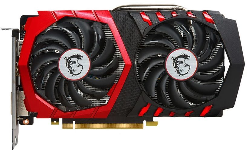 Видеокарта MSI nVidia GeForce GTX 1050TI , GeForce GTX 1050 Ti GAMING X 4G,  4Гб