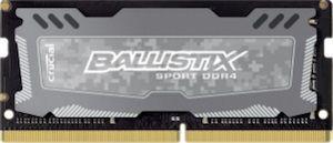 Модуль памяти CRUCIAL Ballistix Sport LT BLS4G4S240FSD DDR4 -  4Гб 2400, SO-DIMM,  Ret