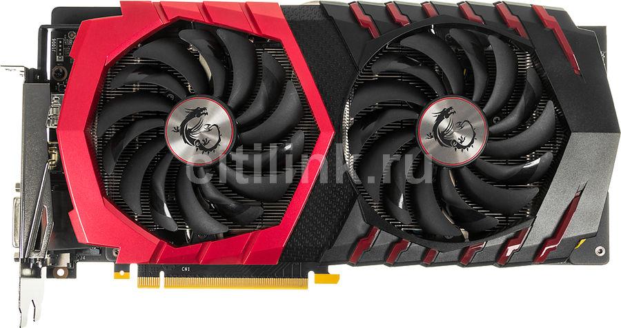 Видеокарта MSI GeForce GTX 1060,  GTX 1060 GAMING 3G,  3Гб, GDDR5, OC,  Ret