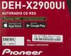 Автомагнитола PIONEER DEH-X2900UI,  USB вид 10