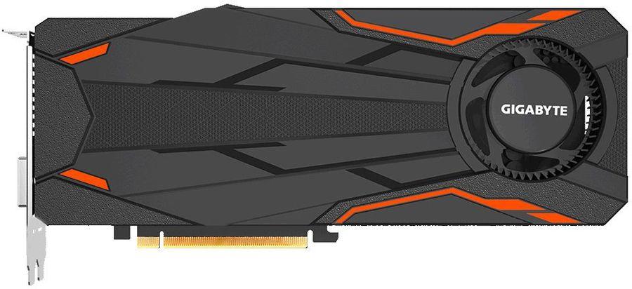 Видеокарта GIGABYTE GeForce GTX 1080,  GV-N1080TTOC-8GD,  8Гб, GDDR5X, OC,  Ret