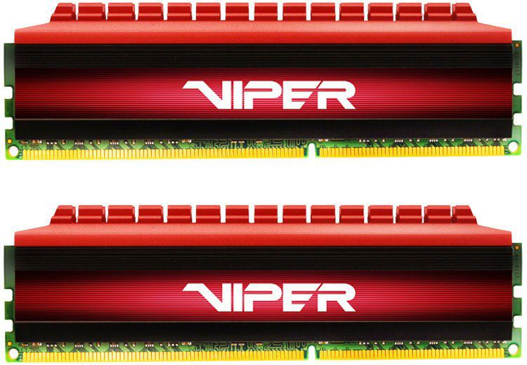 Модуль памяти PATRIOT Viper 4 PV48G266C5K DDR4 -  2x 4Гб 2666, DIMM,  Ret