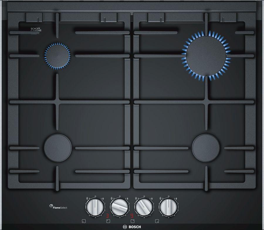 Варочная панель BOSCH PRP6A6D70R,  независимая,  черный