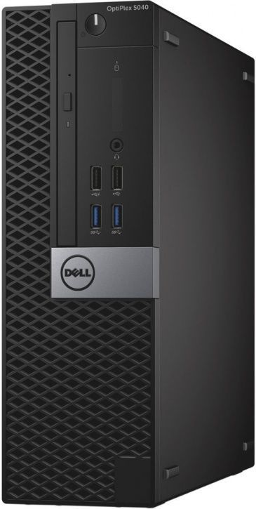 Компьютер  DELL Optiplex 5040,  Intel  Core i7  6700,  DDR3L 8Гб, 500Гб,  Intel HD Graphics 530,  DVD-RW,  Windows 7 Professional,  черный и серый [5040-0033]