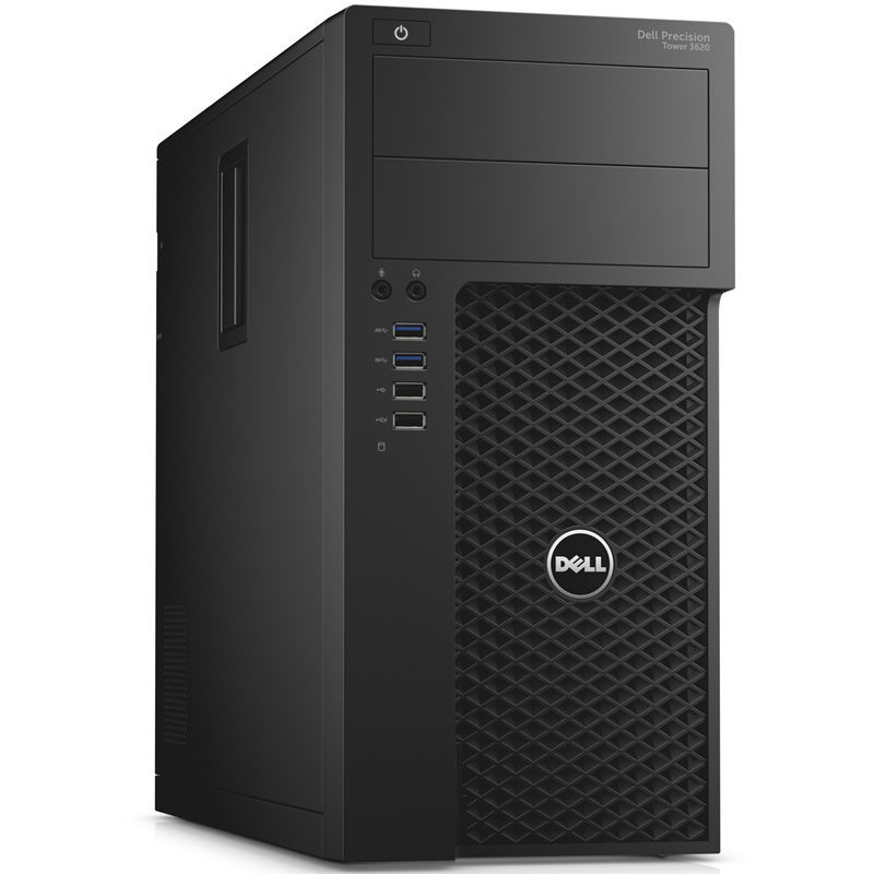 Рабочая станция  DELL Precision 3620,  Intel  Xeon  E3-1220 v5,  DDR4 8Гб, 1000Гб,  256Гб(SSD),  NVIDIA Quadro K1200 - 4096 Мб,  DVD-ROM,  Linux,  черный [3620-0194]