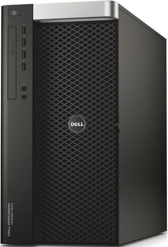 Рабочая станция  DELL Precision T7910,  Intel  Xeon  E5-2620 v4,  DDR4 32Гб, 1000Гб,  256Гб(SSD),  DVD-RW,  Windows 7 Professional,  черный [7910-0323]