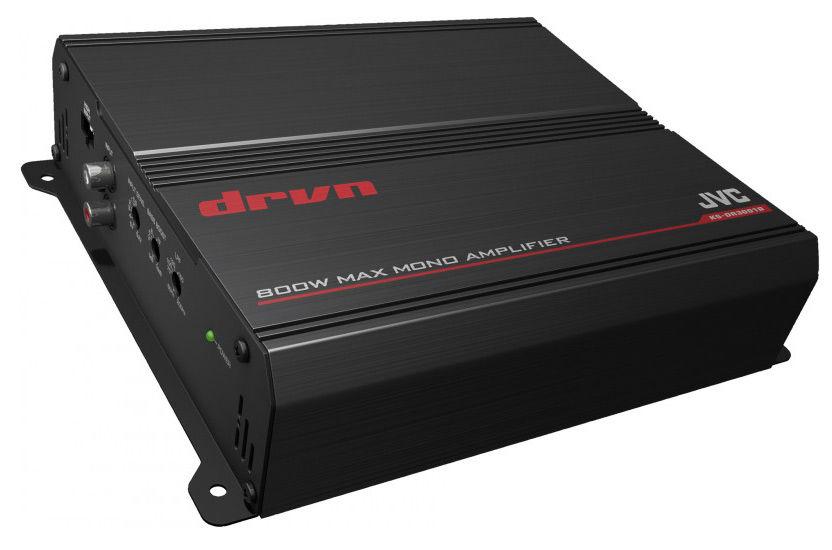 Усилитель автомобильный JVC KS-DR3001D,  черный
