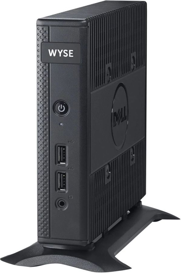 Тонкий клиент  DELL WYSE Thin 5010,  AMD  T48E,  DDR3L 2Гб, 8Гб(SSD),  AMD Radeon HD 6250,  ThinOs,  черный [210-aeno]