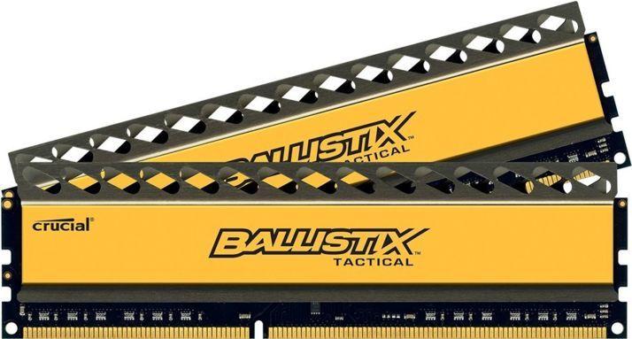 Модуль памяти CRUCIAL Ballistix Tactical BLT2C4G3D21BCT1J DDR3 -  2x 4Гб 2133, DIMM,  Ret