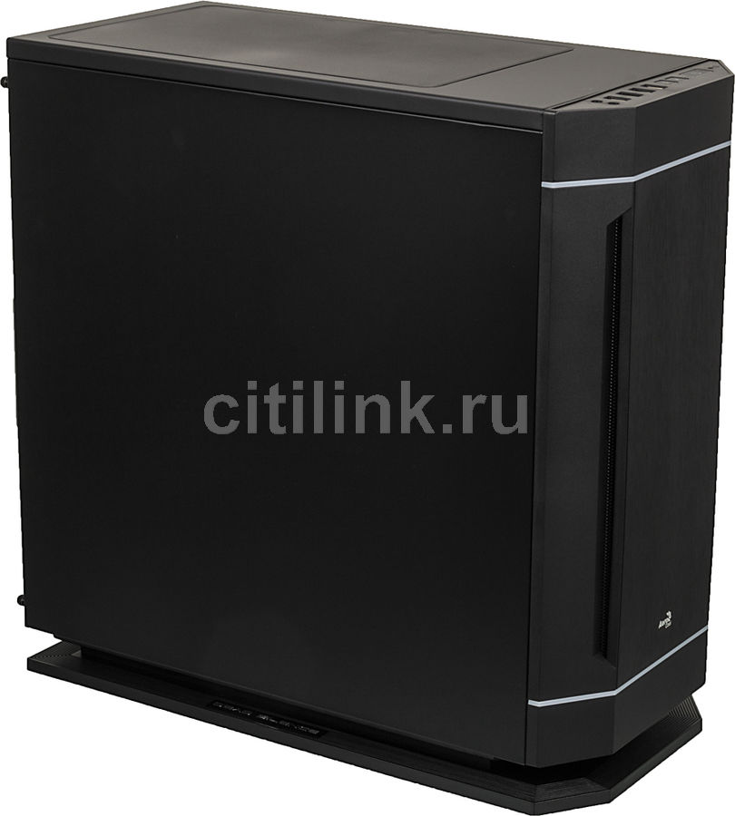 Корпус ATX AEROCOOL Dead Silence 230 Black Edition, Midi-Tower, без БП,  черный