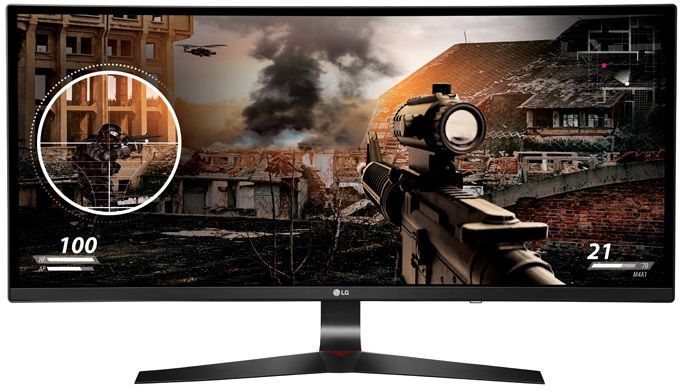 "Монитор LG 34"" 34UC79G-B IPS 2560x1080 144Hz FreeSync 250cd/m2 21:9"