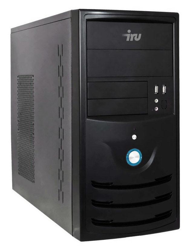 Компьютер  IRU City 310,  Intel  Pentium  G3250,  DDR3 8Гб, 500Гб,  Intel HD Graphics,  Windows 10 Home,  черный [405991]