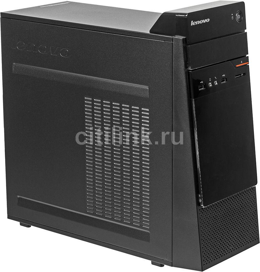 Компьютер  LENOVO S200,  Intel  Pentium  J3710,  DDR3 4Гб, 500Гб,  Intel HD Graphics 405,  DVD-RW,  CR,  noOS,  черный [10hq001fru]