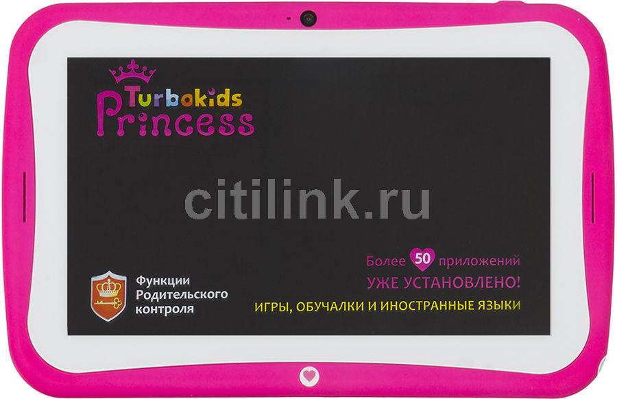 "Планшет Turbo TurboKids Princess New Cortex A7/RAM1Gb/ROM8/7""/WiFi/BT/2Mpix/0.3Mpix/And5.1/розо(Б/У)"