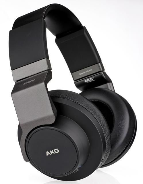 Гарнитура AKG K845BTBLK, накладные,  черный, беспроводные bluetooth
