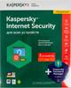 ПО Kaspersky Internet Security Multi-Device c Pas Man-r 2 устройства 1 год Renewal Box (KL1941RBBFR) вид 2