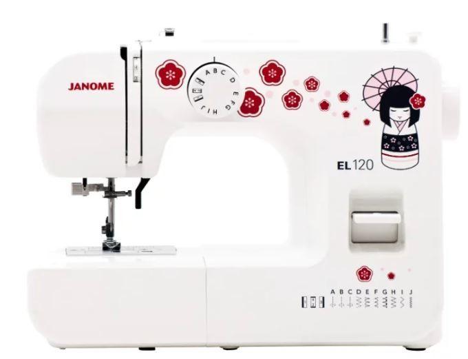 Швейная машина JANOME EL120 белый