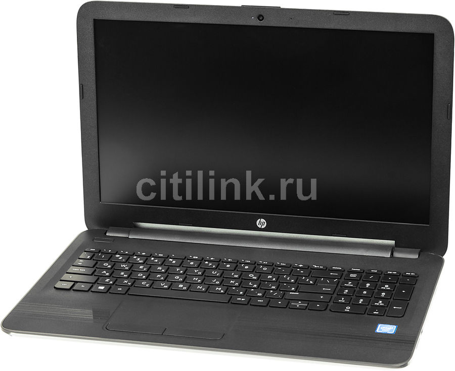 "Ноутбук HP 250 G5, 15.6"", Intel  Celeron  N3060 1.6ГГц, 4Гб, 500Гб, Intel HD Graphics  400, DVD-RW, Windows 10 Professional, X0Q14EA,  серый"