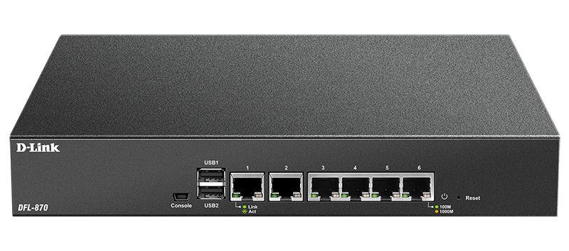 Сетевой экран D-LINK DFL-870,  черный [dfl-870/a1a]