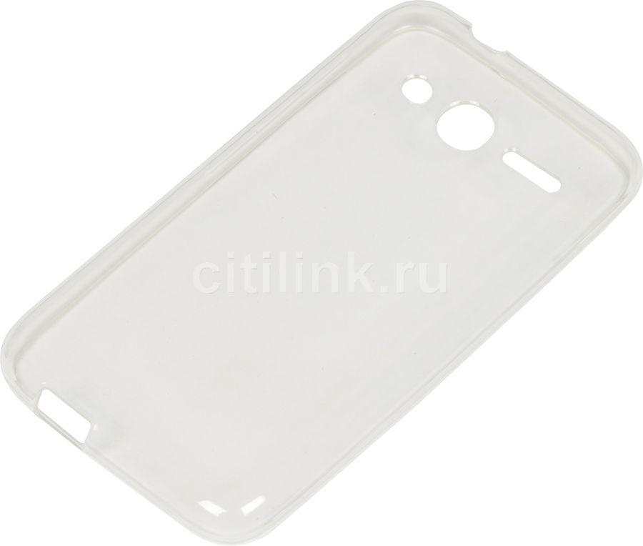 Чехол (клип-кейс) REDLINE iBox Crystal, для Alcatel Pixi 4 4034D, прозрачный [ут000009338]