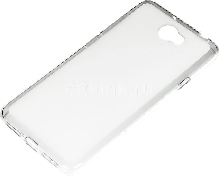 Чехол (клип-кейс) REDLINE iBox Crystal, для Huawei Honor 5A/Y6II Compact, прозрачный [ут000009479]