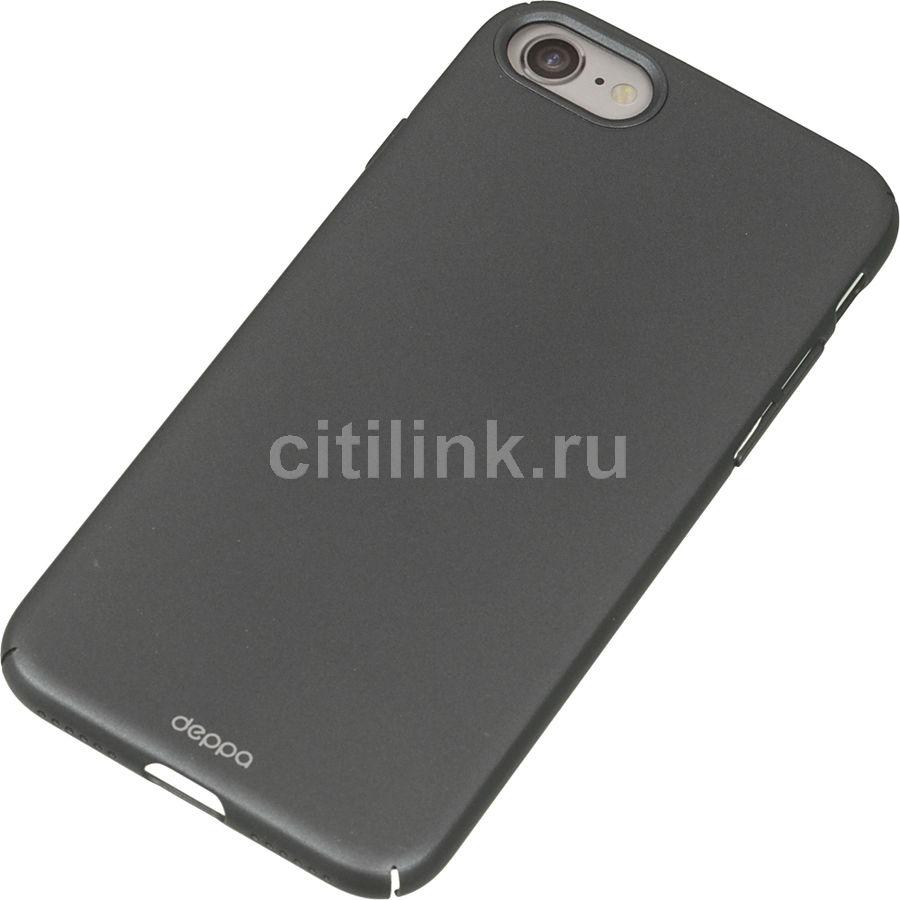 Чехол (клип-кейс) DEPPA Air Case, для Apple iPhone 7/8, графит купить по цене 590 рублей в интернет-магазине СИТИЛИНК