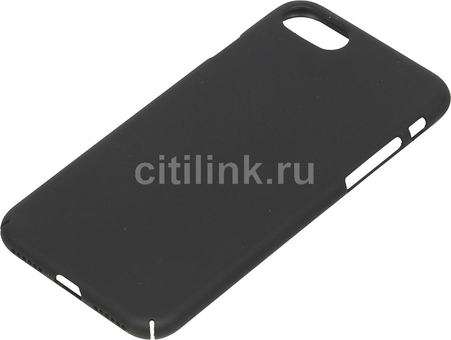 Чехол (клип-кейс) DEPPA Air Case, для Apple iPhone 7/8, черный купить по цене 590 рублей в интернет-магазине СИТИЛИНК