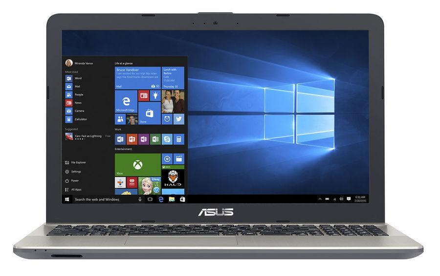 """Ноутбук ASUS X541UV-XO241T, 15.6"""", Intel  Core i5  6198DU 2.3ГГц, 8Гб, 500Гб, nVidia GeForce  920MX - 2048 Мб, DVD-RW, Windows 10, 90NB0CG1-M02830,  черный"""