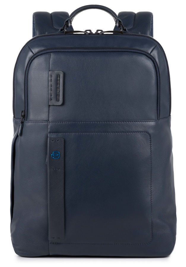 Рюкзак Piquadro Pulse CA4174P15/BLU3 синий натур.кожа