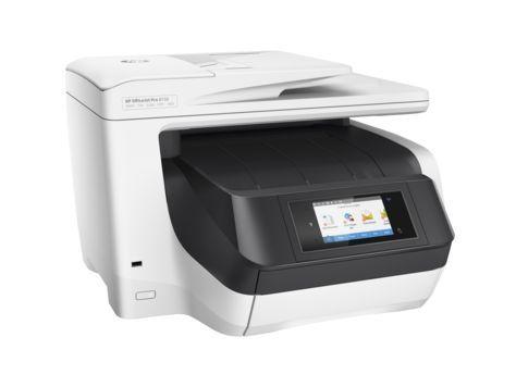 МФУ HP OfficeJet Pro 8730 e-AiO, A4, цветной, струйный, белый [d9l20a]