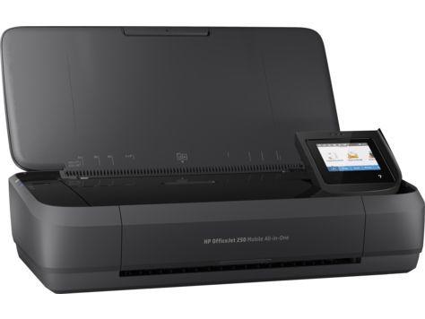 МФУ HP OfficeJet 252 mobile AiO, A4, цветной, струйный, черный [n4l16c]