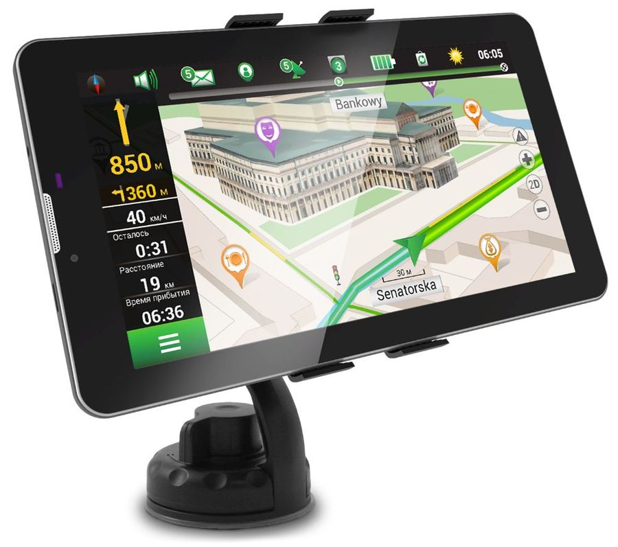GPS навигатор NAVITEL A735,  7