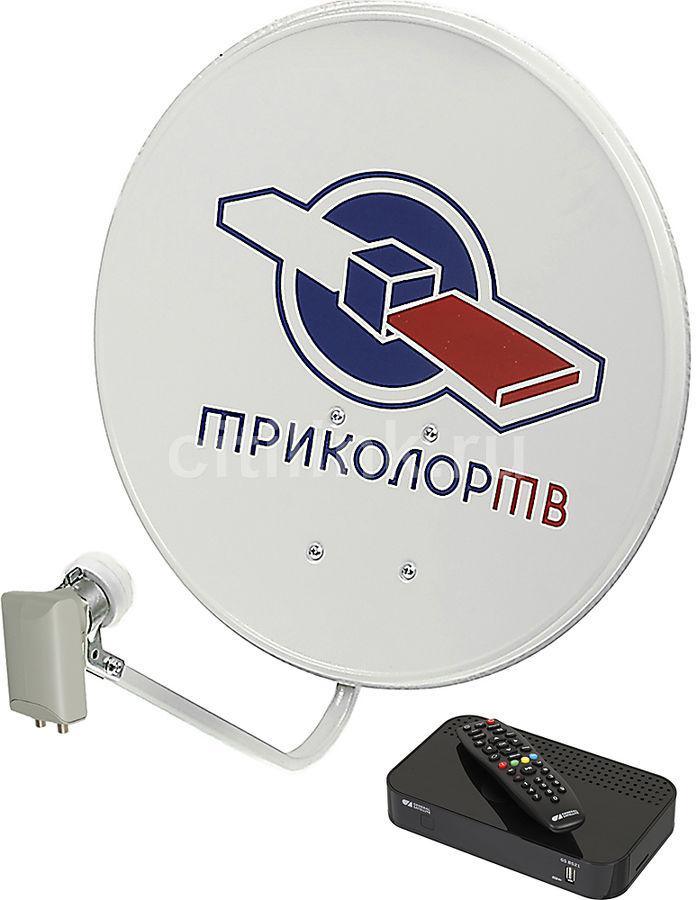 Комплект спутникового телевидения ТРИКОЛОР Full HD GS B521