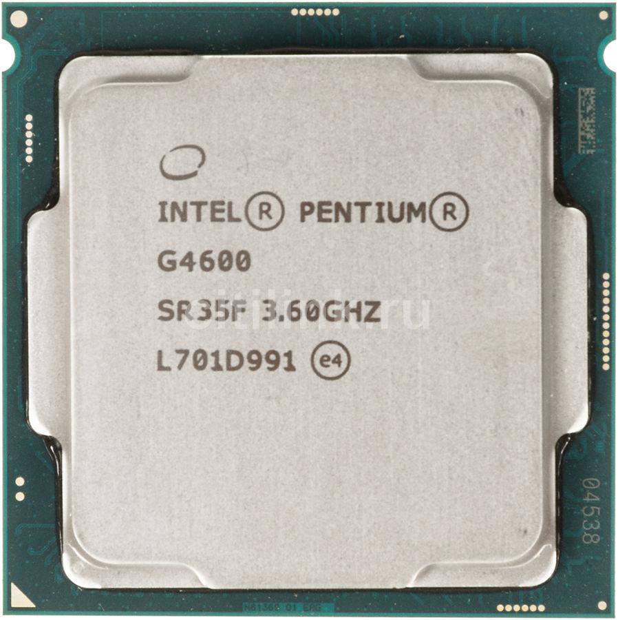 Процессор INTEL Pentium Dual-Core G4600, LGA 1151 OEM [cm8067703015525s r35f]