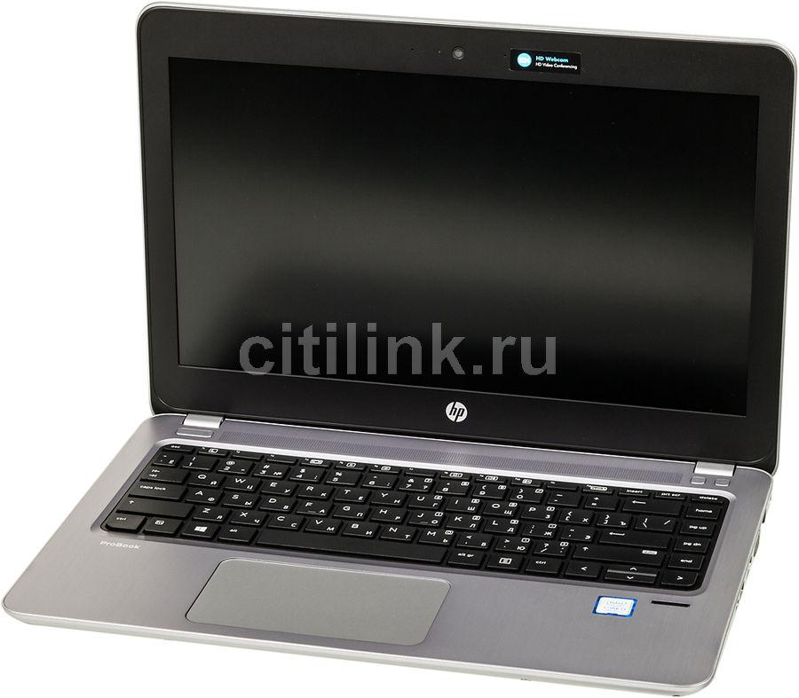 "Ноутбук HP ProBook 430 G4, 13.3"", Intel  Core i3  7100U 2.4ГГц, 4Гб, 1Тб, Intel HD Graphics  620, Windows 10 Professional, Y7Z50EA,  серебристый"