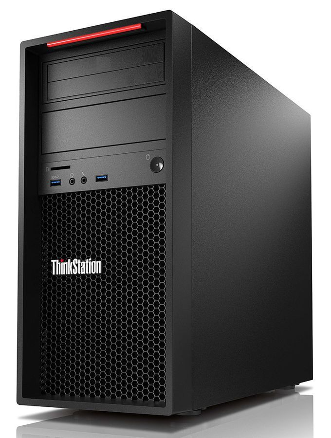Рабочая станция  LENOVO ThinkStation P310,  Intel  Core i7  6700,  DDR4 16Гб, 1000Гб,  NVIDIA Quadro K620 - 2048 Мб,  Windows 10 Professional,  черный [30ass15y00]
