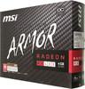 Видеокарта MSI Radeon RX 480,  RX 480 ARMOR 4G OC,  4Гб, GDDR5, Ret вид 7