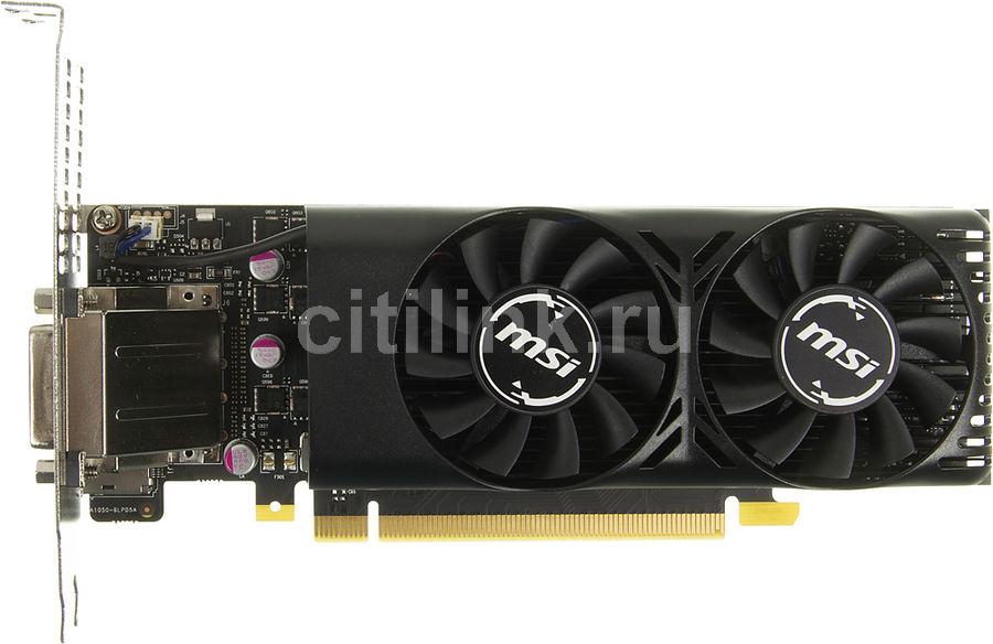Видеокарта MSI GeForce GTX 1050,  GTX 1050 2GT LP,  2Гб, GDDR5, Ret