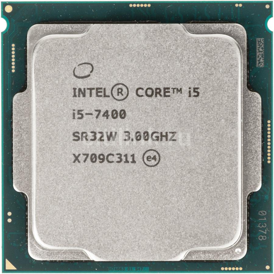 Процессор INTEL Core i5 7400 купить по цене 11 900 рублей в интернет-магазине СИТИЛИНК