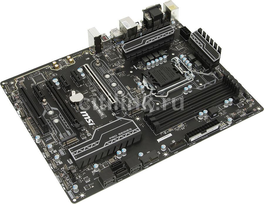 Материнская плата MSI H270 PC MATE LGA 1151, ATX, Ret