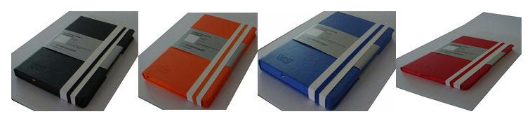 Записная книжка SILWERHOF 761103,  120лист.,  кожа искусственная,  ассорти