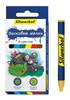 Восковые мелки Silwerhof 884168-06 Пластилиновая коллекция круглые 6цв. дл.89мм д.8мм картон.кор./ев вид 1