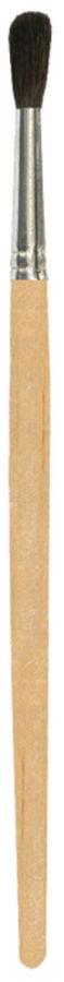Кисть Silwerhof 981132 Пластилиновая кол-ция худож. пони круг. №1 дерев.лакир.ручка