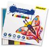 Пластилин Silwerhof 956147-12 Бабочки 12цв. 180гр. картон.кор. вид 1