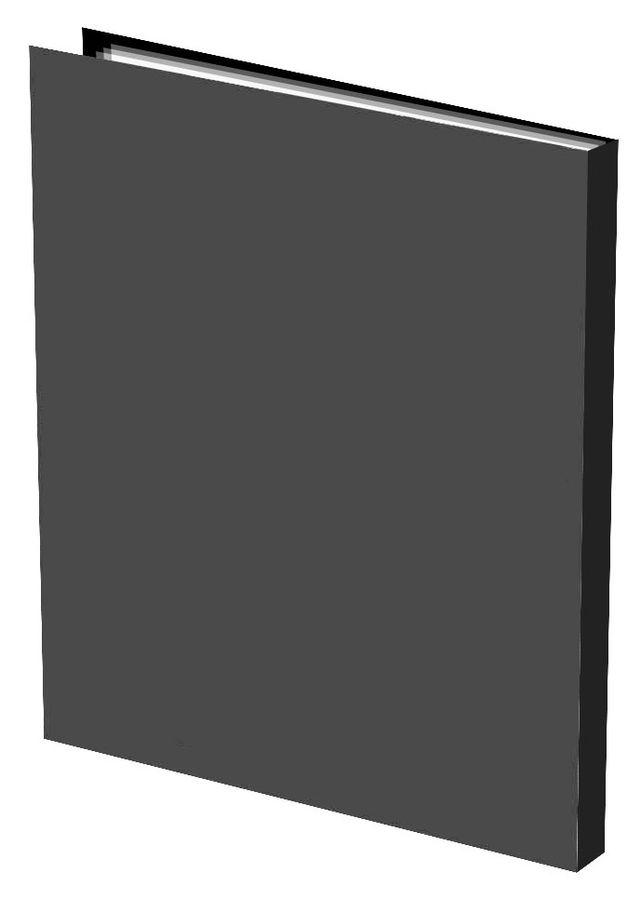 Папка с 20 прозр.вклад. Silwerhof Basic 255067-01 A4 0.5мм черный