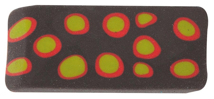 Ластик Silwerhof 181108 Пластилиновая коллекция 19x45x8мм каучук ассорти индивидуальная картонная уп