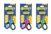 Ножницы Silwerhof 453085 Джинсовая коллекция детские 150мм ручки с резиновой вставкой ассорти блисте вид 1